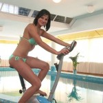 Abbie Cat gets a super hot pounding at the gym