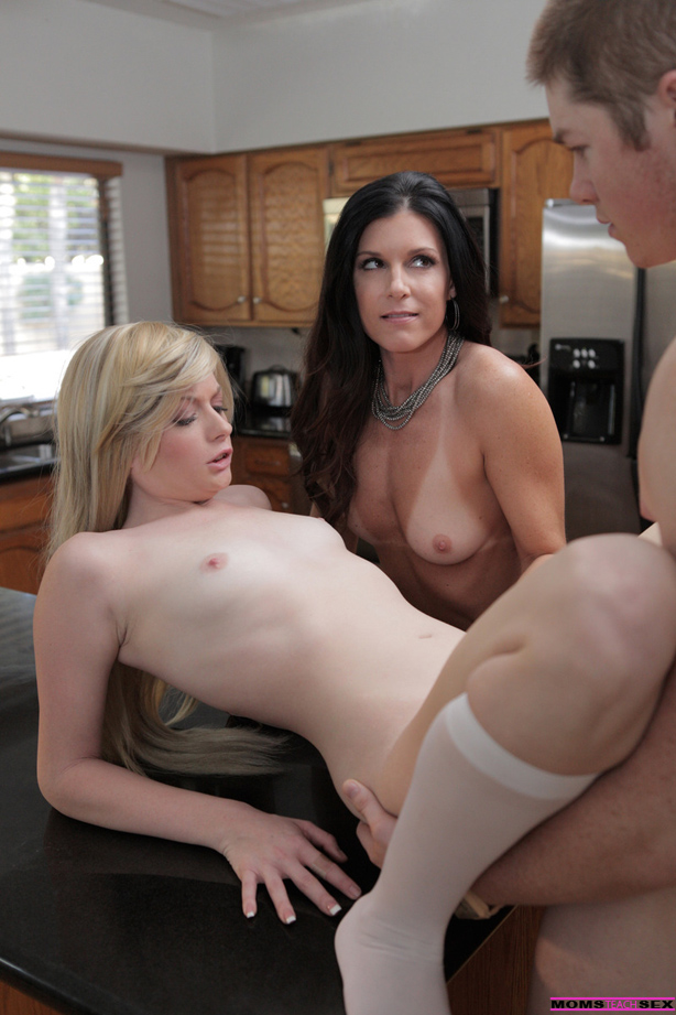 MomsTeachSex.com - Probe Session Turns Sexual
